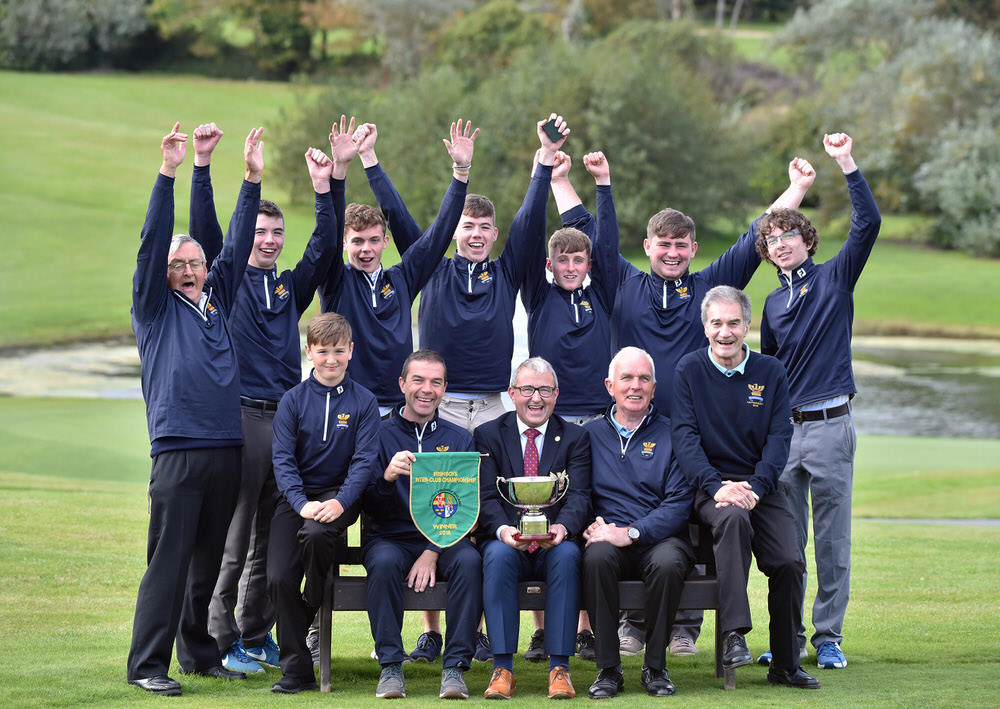 2018 Junior Foursomes All Ireland Finals at Tramore Golf Club