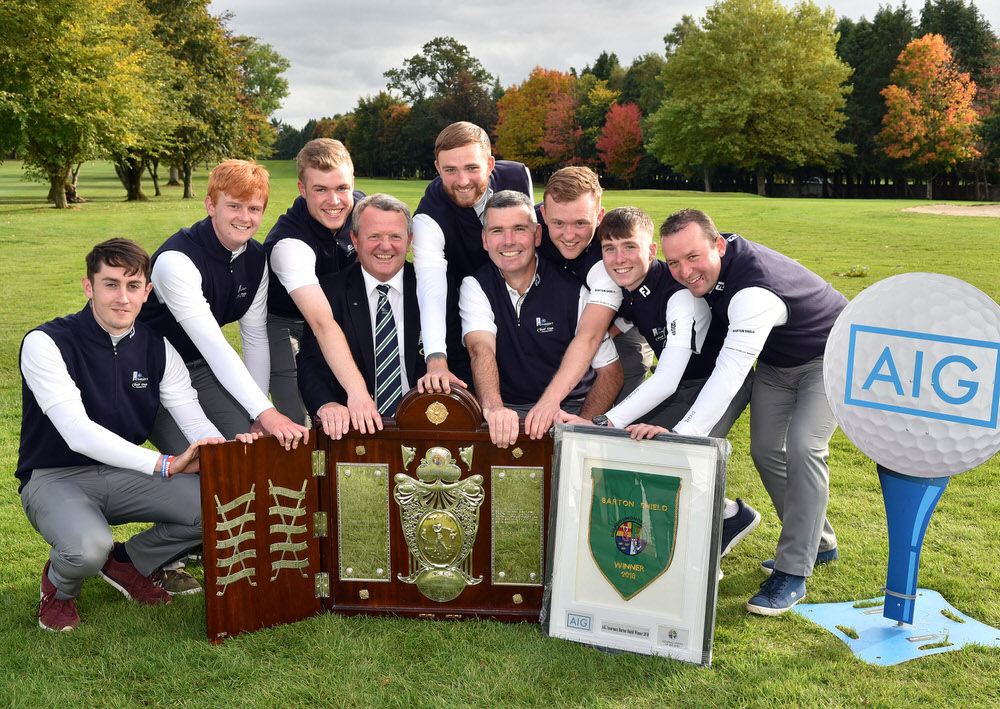 2018 AIG Cups and Shields Finals at Thurles Golf Club
