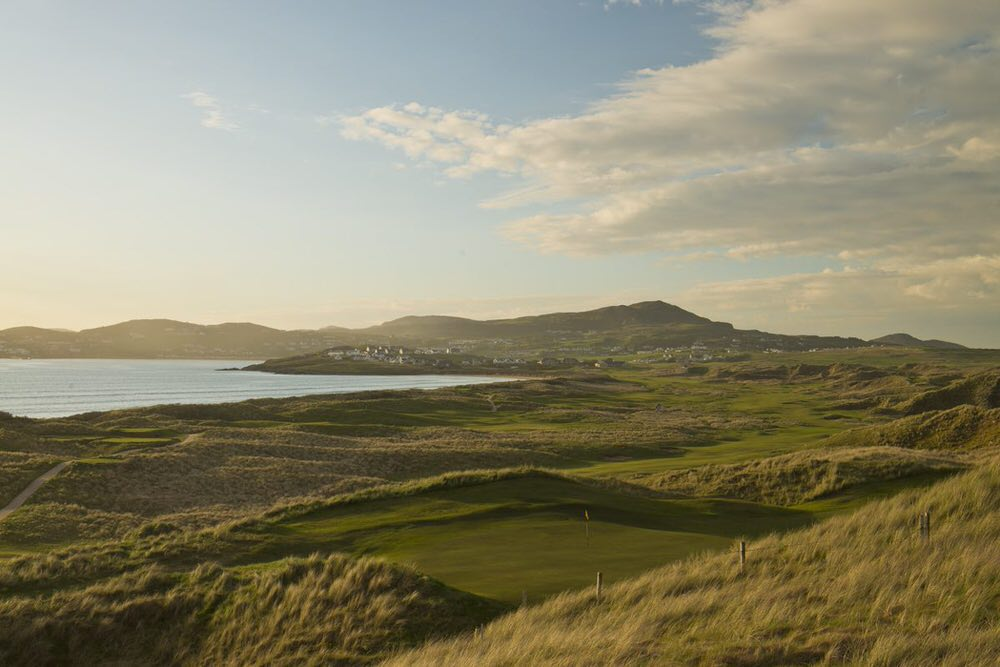 The Old Tom Morris links at Rosapenna