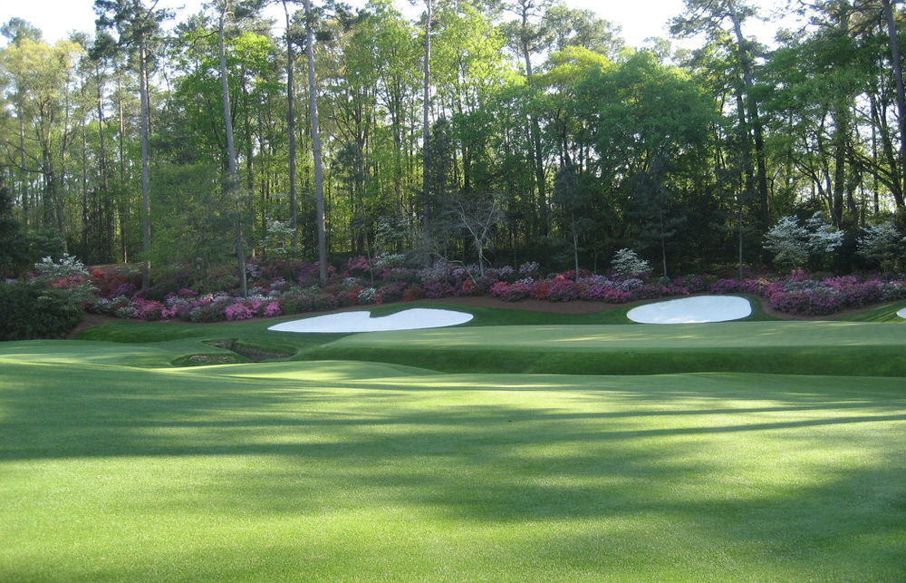 Augusta National's 13th green