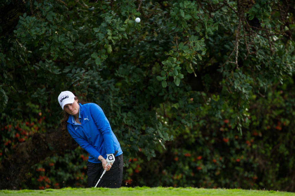 Leona Maguire in action in Spain recently. Credit: Tristan Jones