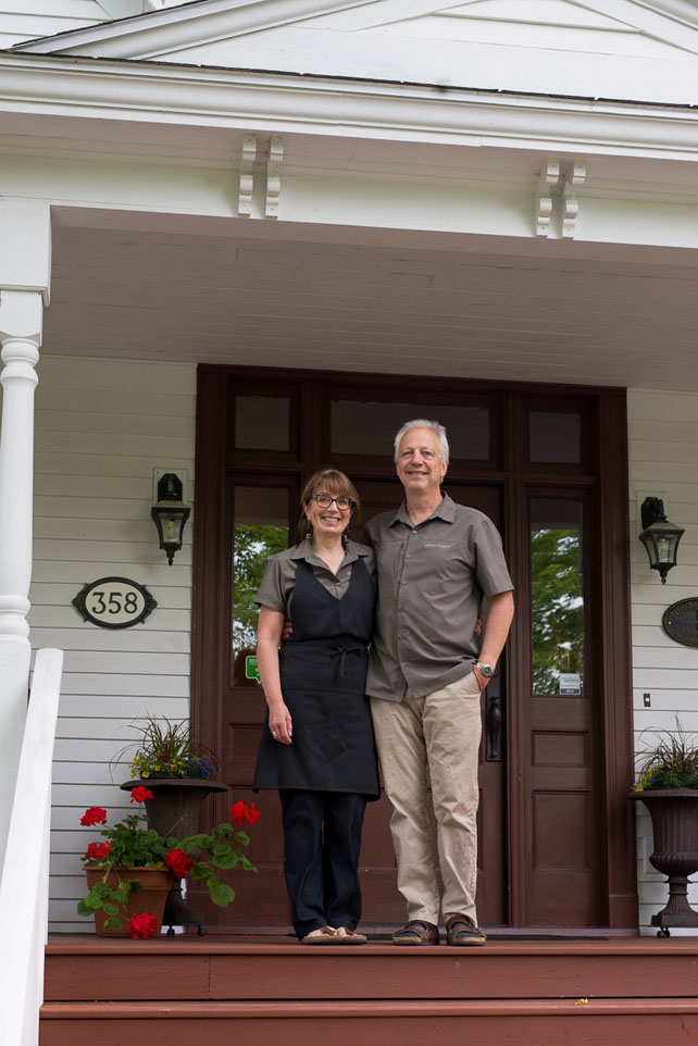 Gillespie House owners, Lori Lynch & David Beattie