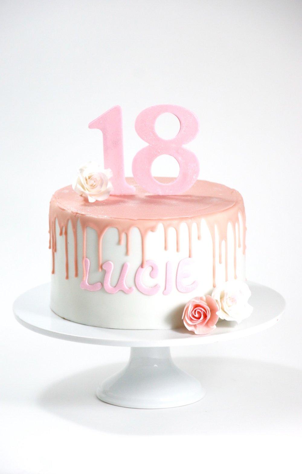 Geburtstagstorte Sweet 18 Barbara Aletter Patisserie