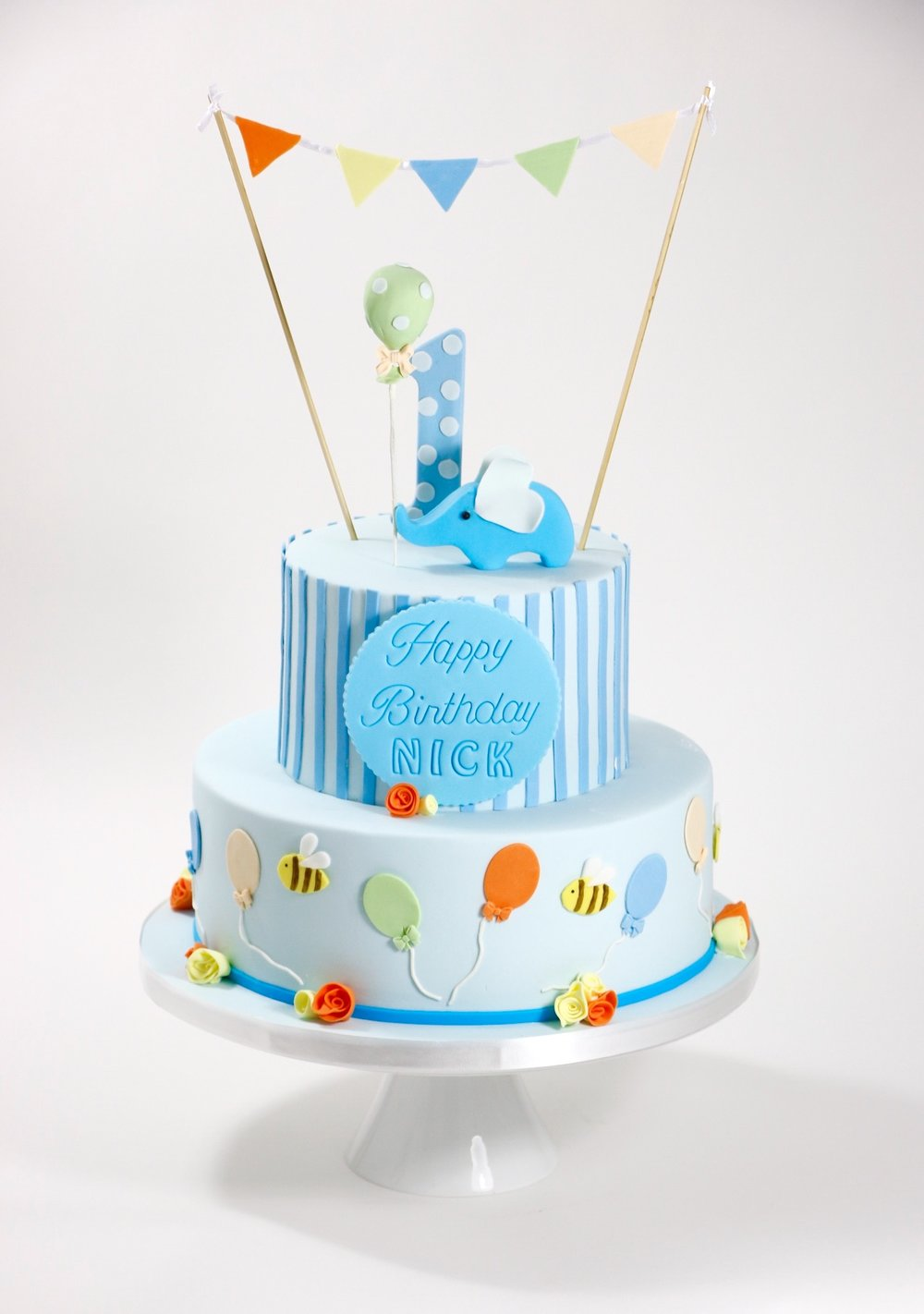Torte Zum 1 Geburtstag Barbara Aletter Patisserie