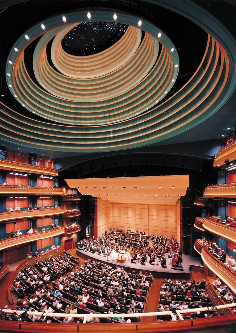 The Schuster Center (via Pelli Clark Pelli Architects)