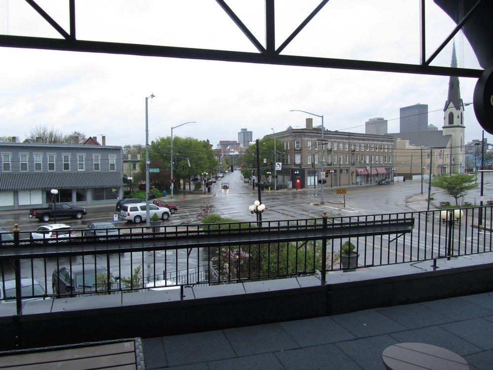 """New upstairs patio (via Yelp User Mike """"Irish Green"""" G."""