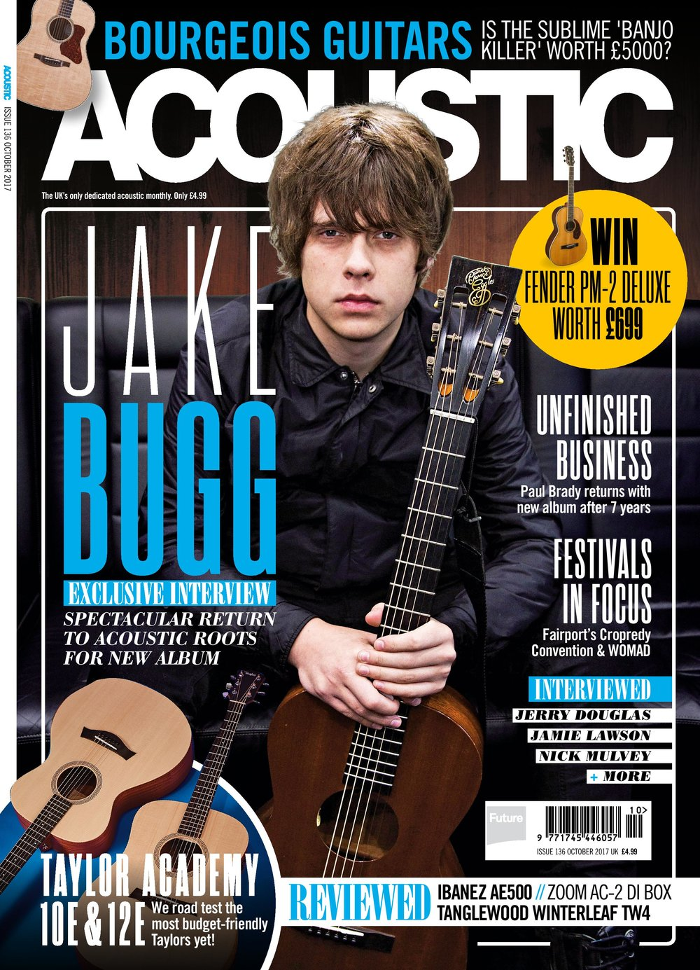Jake Bugg Front Cover