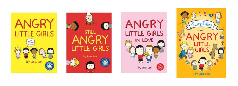 Angry Little Girls published by Harry N. Abrams