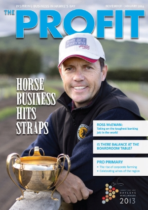 Regular contributor to Hawke's Bay's quarterly business magazine.