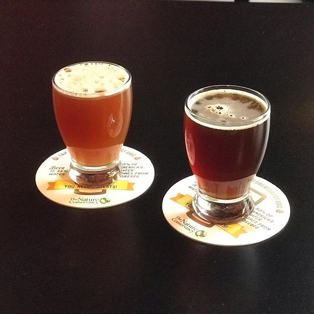 Two brown beers on tap now. Bitter, Faster, More Brown IPA 6.8% and Poet's Endless Revision Brown Ale 7.3%.