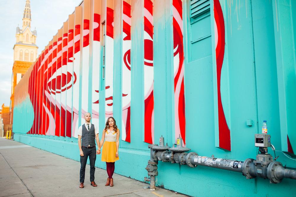 Ally & Kyle                    RINO District, Denver, Colorado