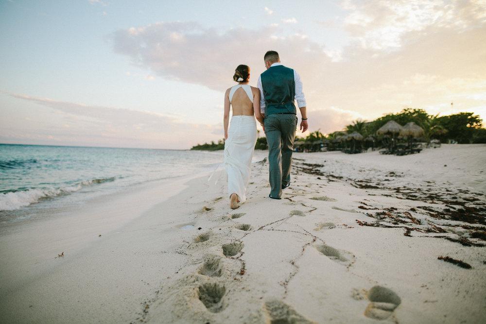 Amanda & Tommy                      Blue Venado, Playa Del Carmen, Mexico