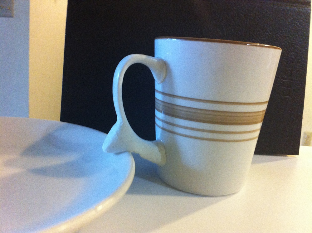 I also explored manipulating existing cups.