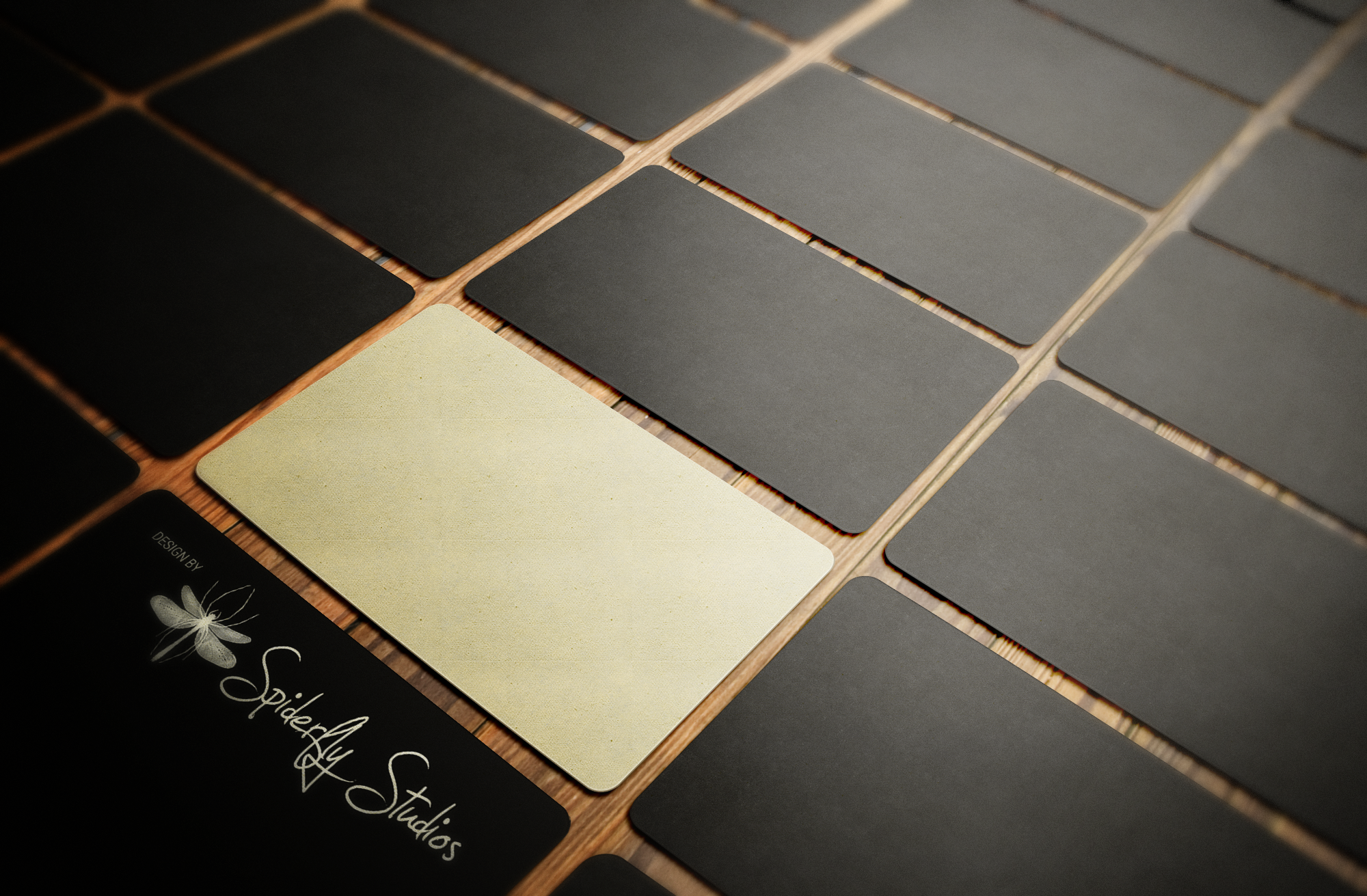 velvet laminated premium business cards