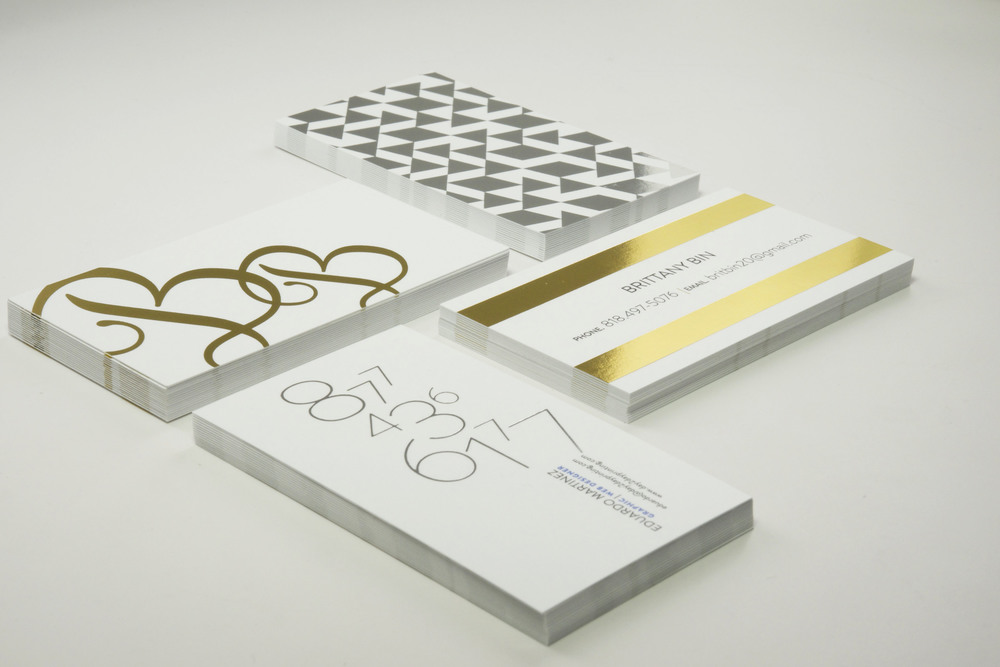 Metallic/Foiled Premium Business Cards — urbaprint