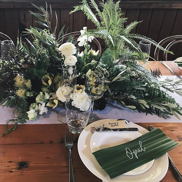 Oh George | ready to partay #waitingforgeorge #flora #florist #flowers #rugged #rainforest #weddedbliss #waldara