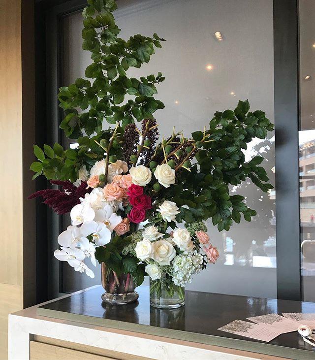 For Camellia & Michael 🔥 #flora #flowers #sydney #florist #roses #orchids #hydrangea #arrangement #engagement #love