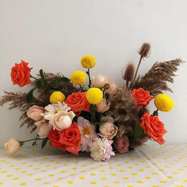 Oh George | one more for the road #waitingforgeorge #flora #florist #flowers #sydneyflorist #babysprinkle
