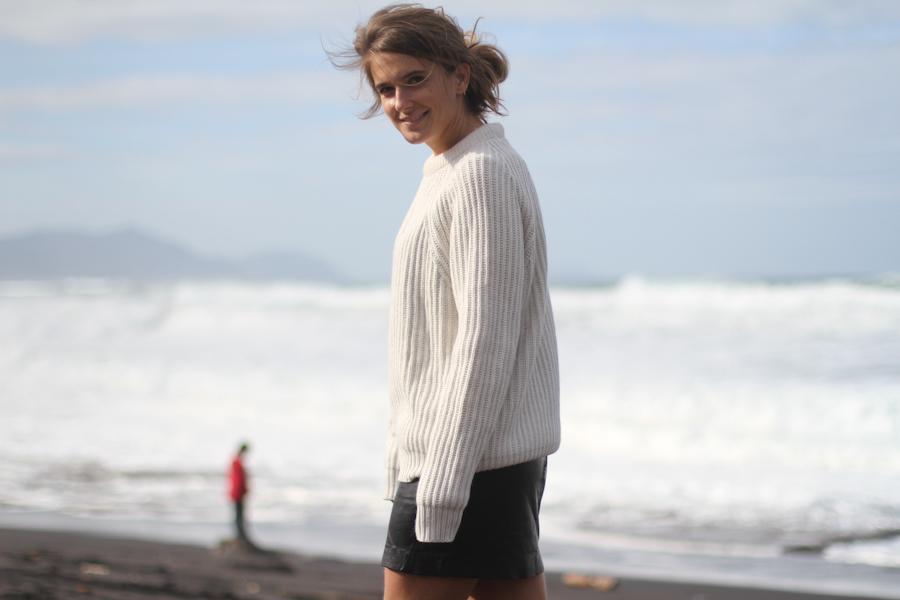 ClochetWhite sweater