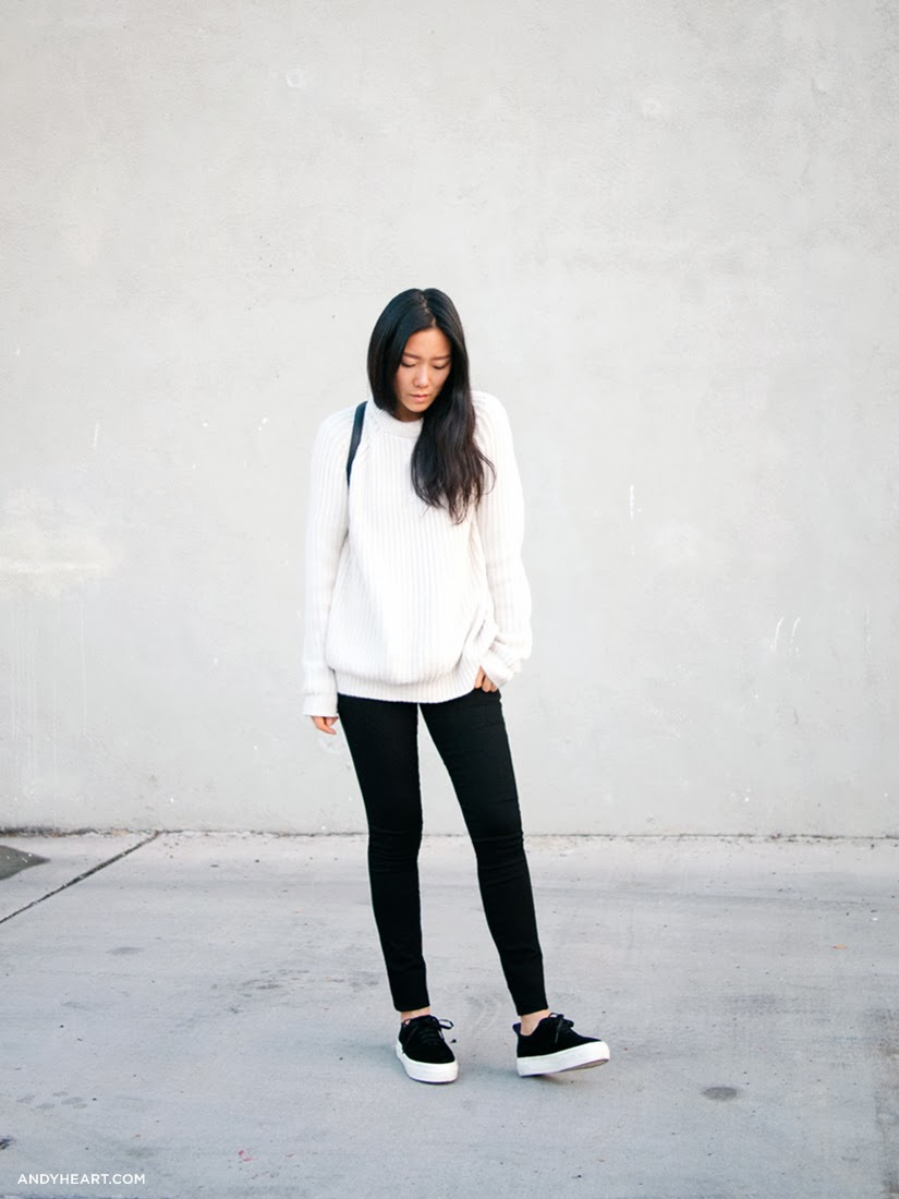Andyheart White sweater