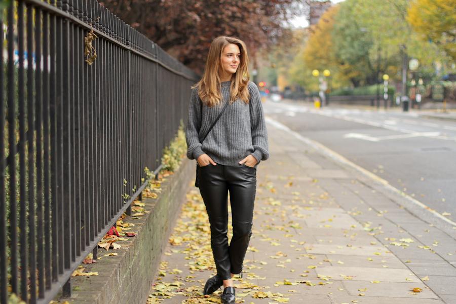 Clochet Grey sweater