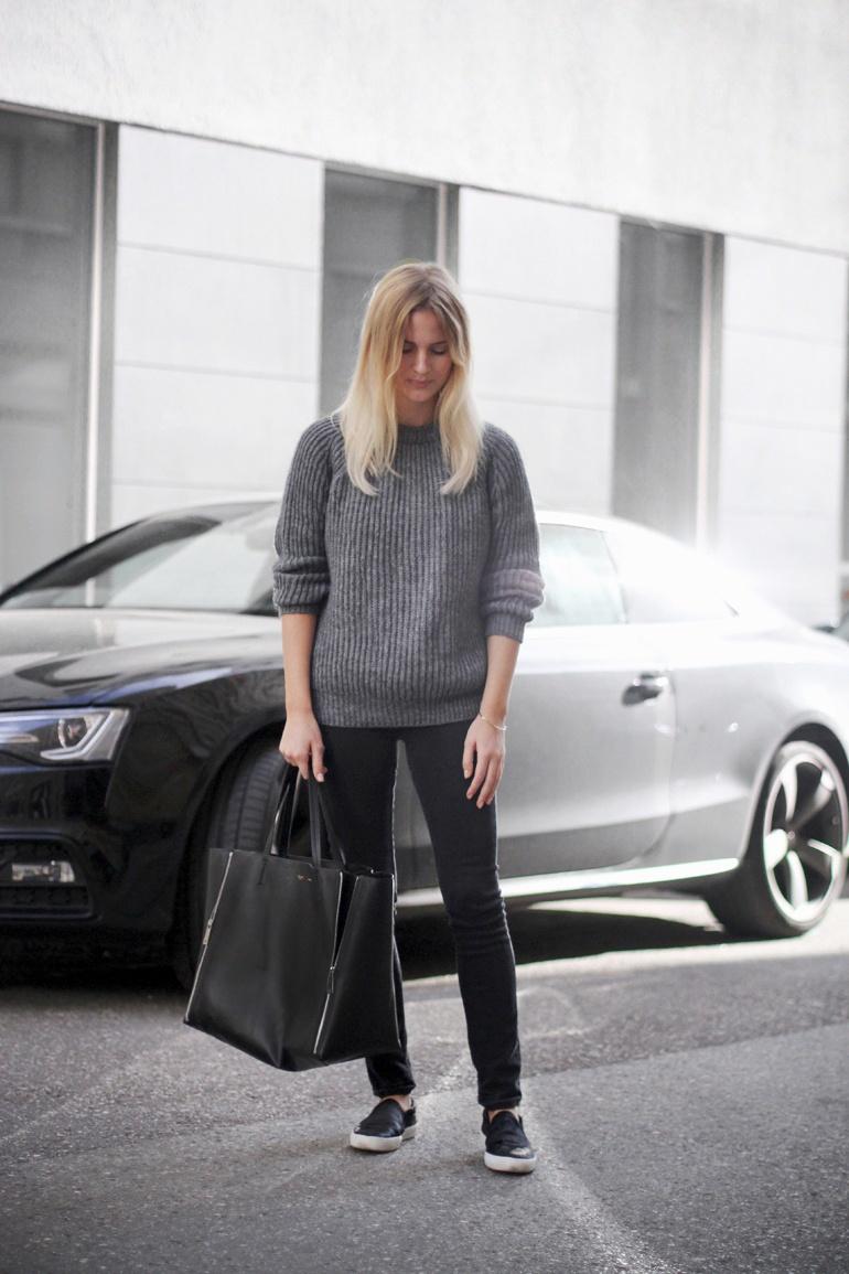 Mija Grey sweater