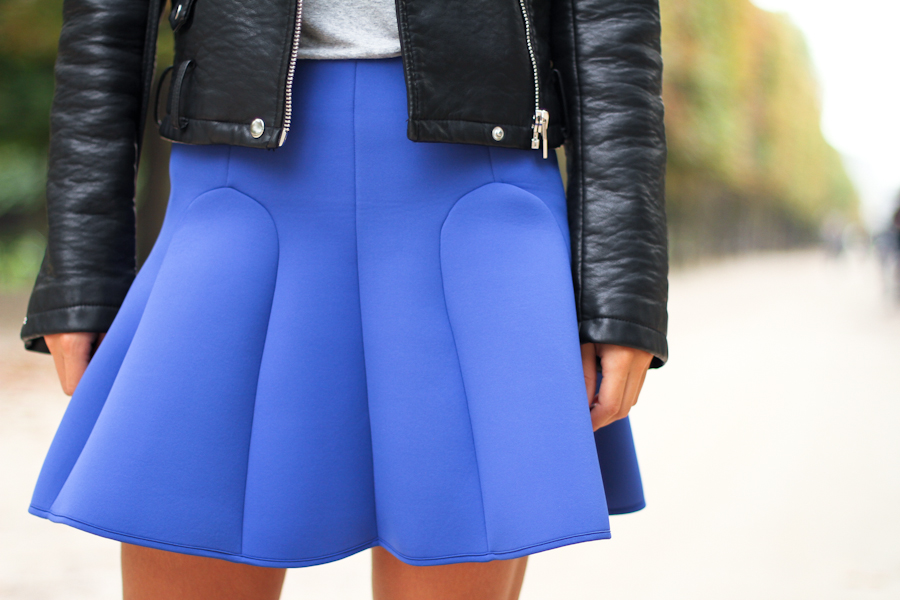 Clochet                        Neoprene skirt: & Other Stories