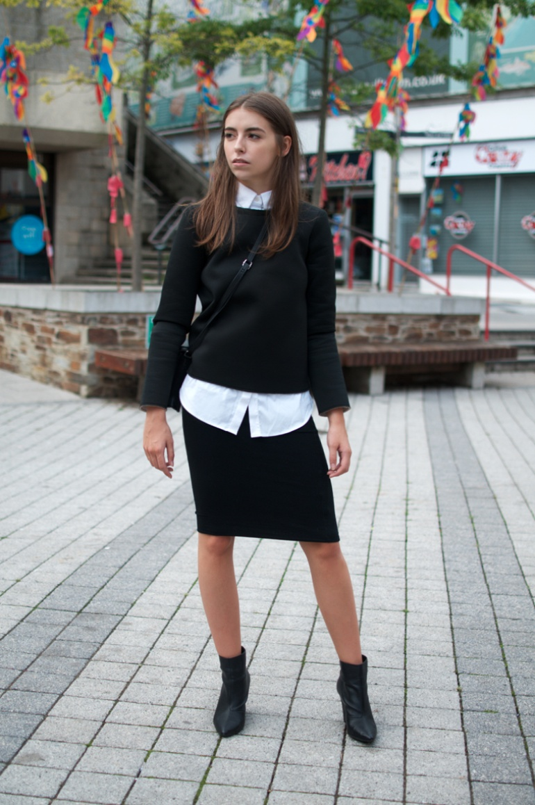 Cocochic                   Zara neoprene sweater