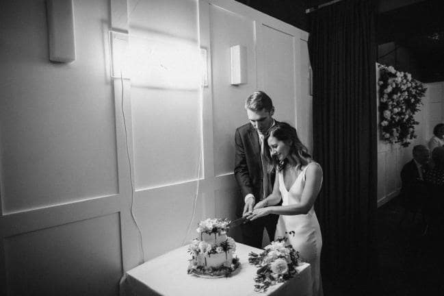 Inside a fashion PR's cool London Wedding -