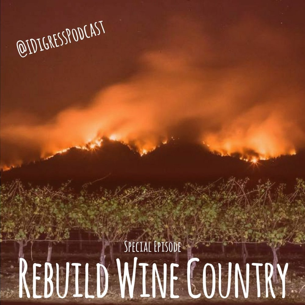 I Digress Podcast   Rebuild Wine Country  Special Episode  February 6, 2018