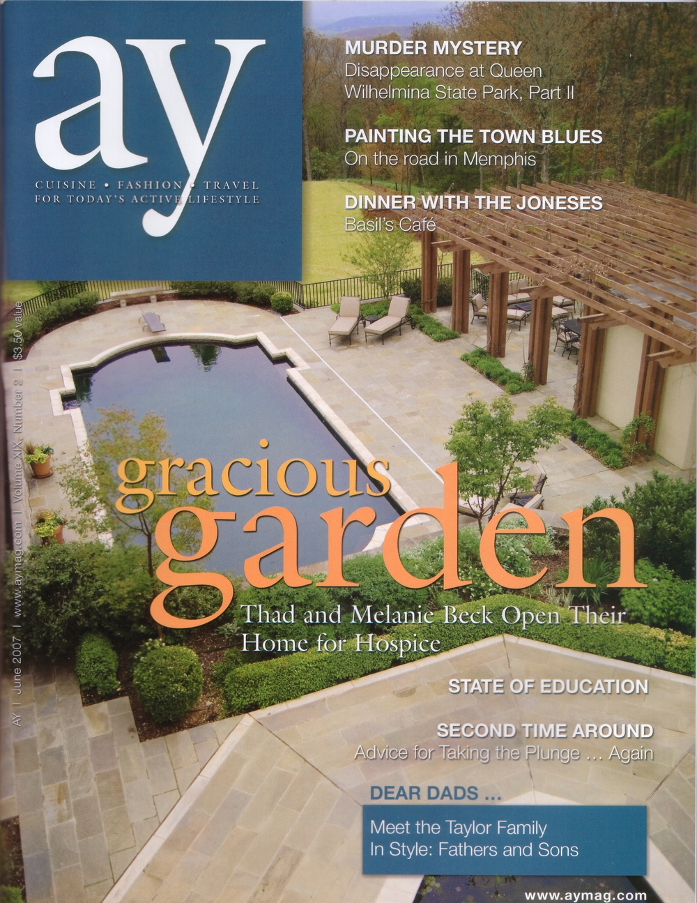 AY Magazine - June 2007  Beck Residence