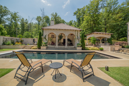 New Pool, Poolhouse, and Outdoor Kitchen in Harrison, AR