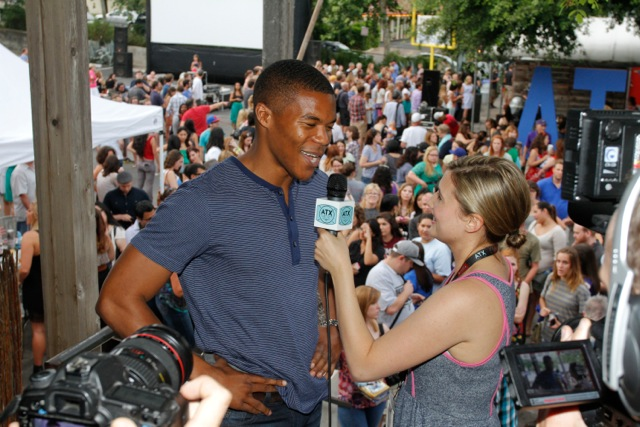 Emily Moss Wilson interviews FRIDAY NIGHT LIGHTS actor Gaius Charles.