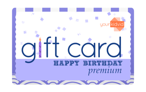 Happy Birthday Gift Card Yourkidvid