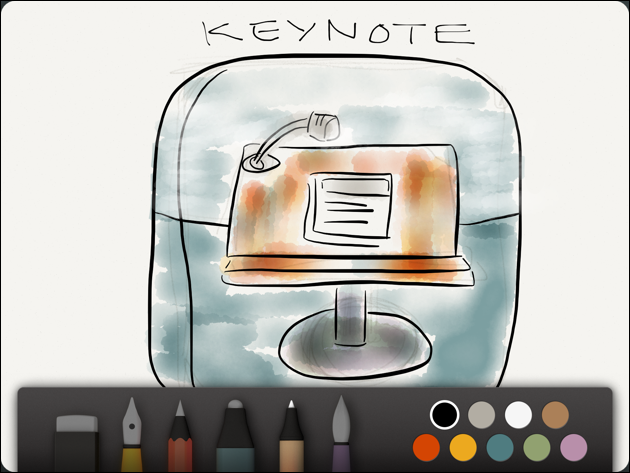 Use Paper by FiftyThree to Create Graphics for Keynote