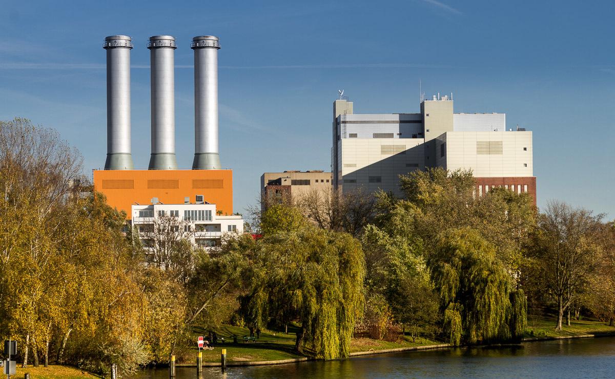 Kraftwerk I Charlottenburg, Spandauer Damm.