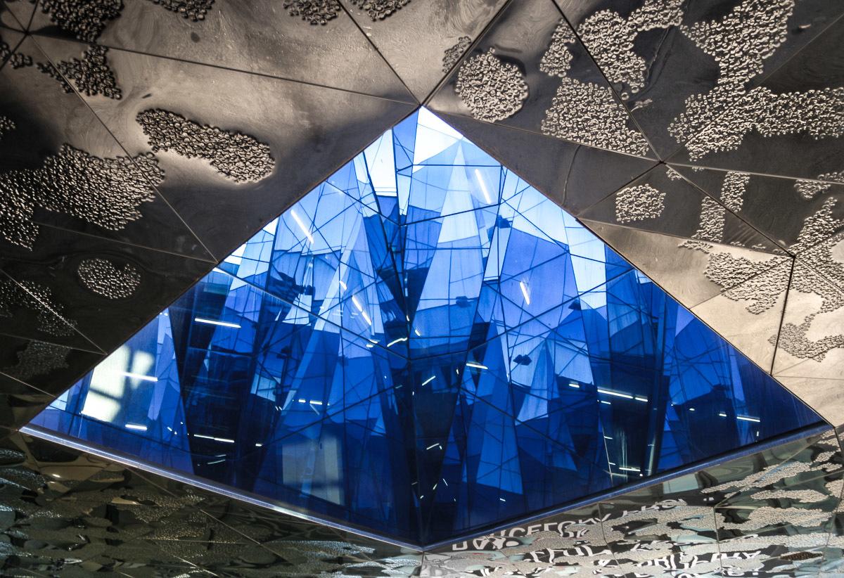 Museu Blau de les Ciències Naturals Aka. Forum Building. Barcelona, Herzog & DeMeuron.