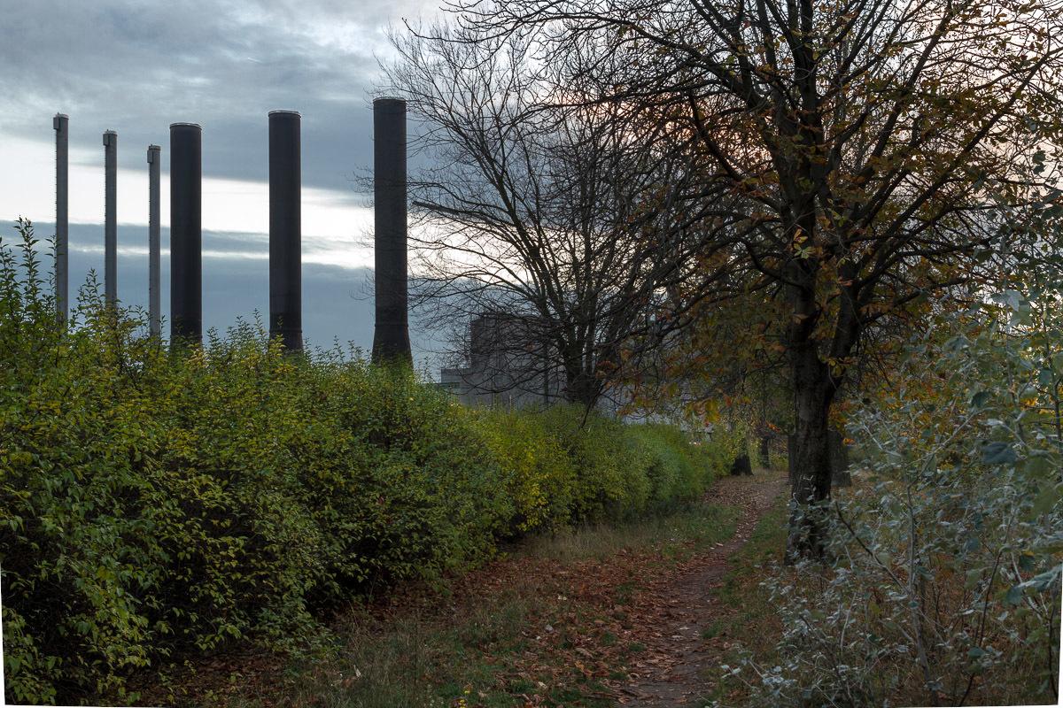 Kraftwerk II Moabit. Friedrich-Krause-Ufer.
