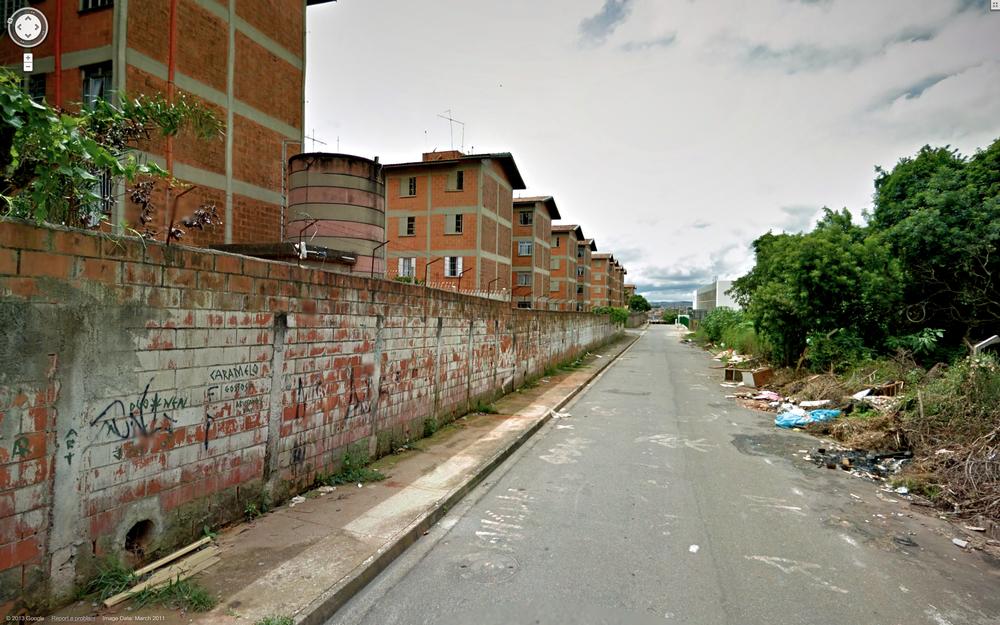 São Mateus social housing blocks.