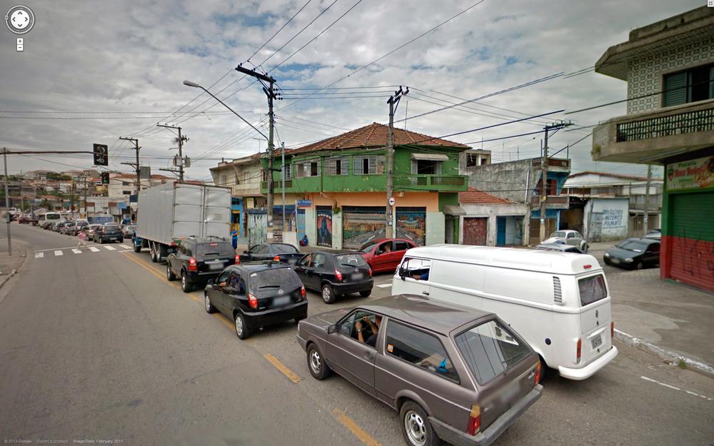 Avenida Itaquera traffic jam.