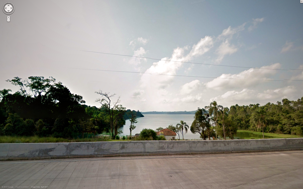 The Guarapiranga resevoir.