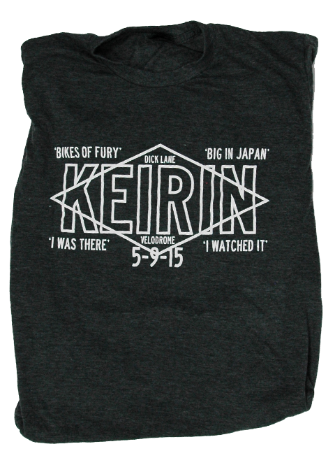 Keirin Tee for Dick Lane Velodrome