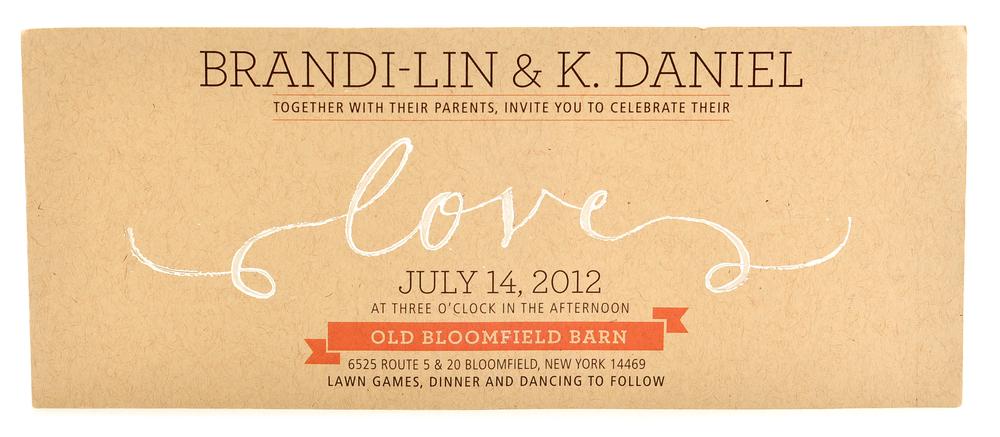 Brandy & Danny Invite - 2