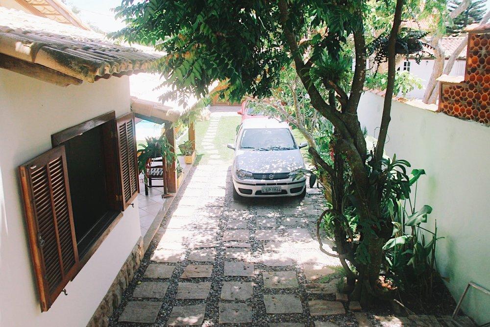 GARAGEM PARA 5 CARROS EM FILA