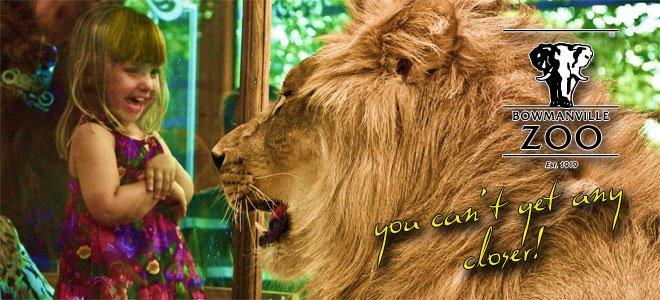 www. bowmanvillezoo  .com     Bowmanville Zoo Family Passes   $190 value