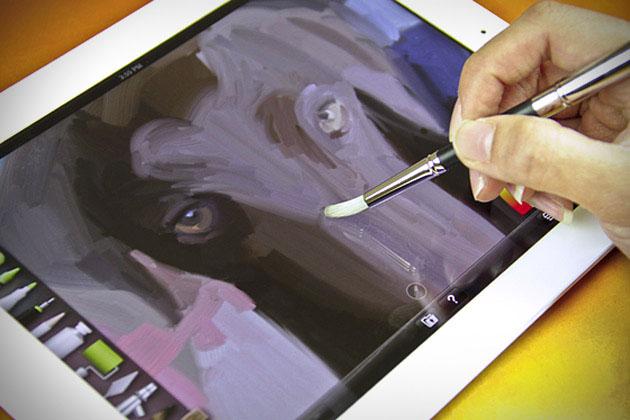Sensu digital artist brush