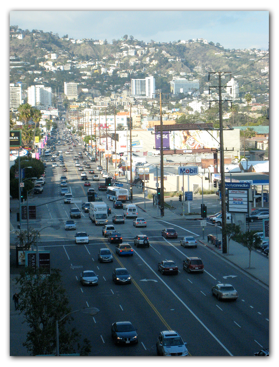 La Cienega photo for digital oil painting