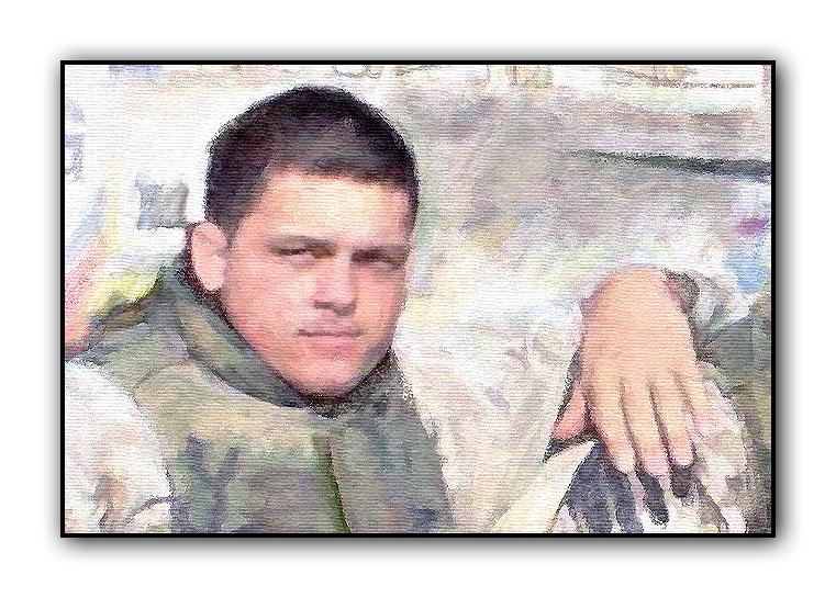 SOLDIER PORTRAIT PAINTING