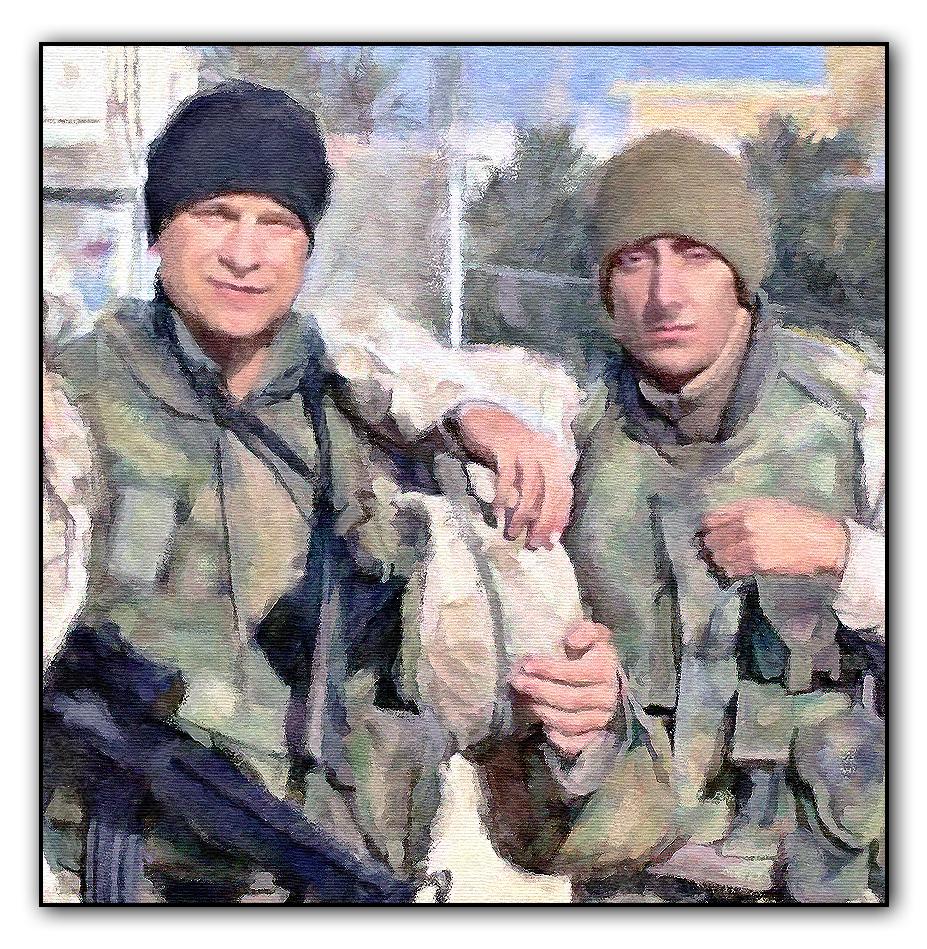SOLDIERS PORTRAIT PAINTING