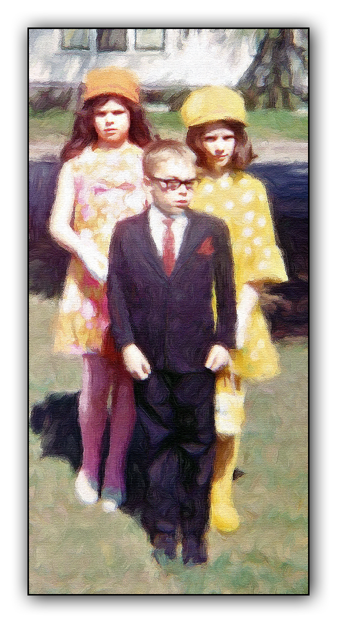 Family portrait painting 2